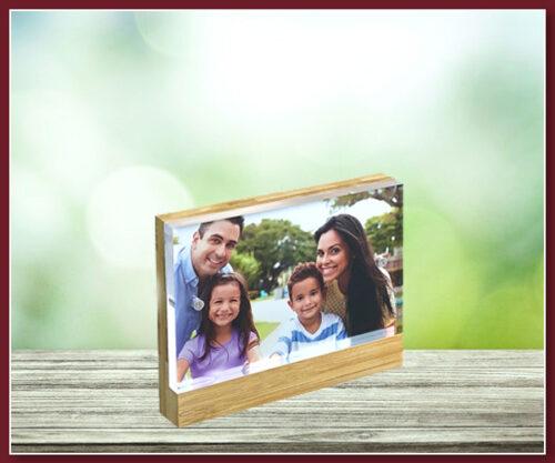 Bamboo Acrylic Frame