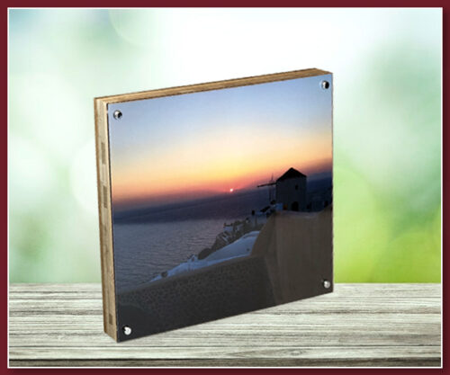 Bamboo Panel with Acrylic Sheet