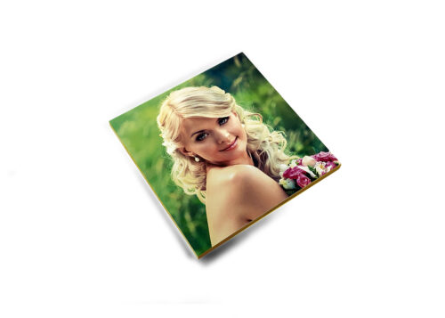 Bamboo Photo Magnets