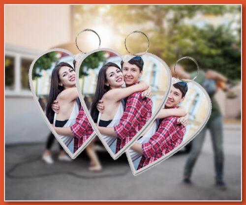 3 x Love Keyrings