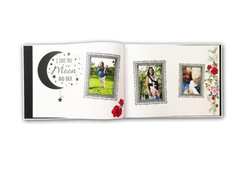 A4 landscape photobook