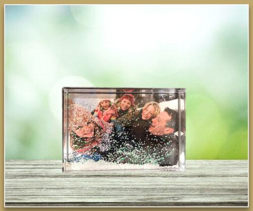 Acrylic Snow Frame - 6x4 - Landscape