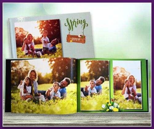 Spring Theme A4 Landscape Standard