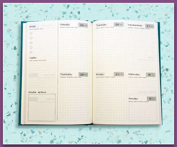 Everyday A5 Personalised Diaries