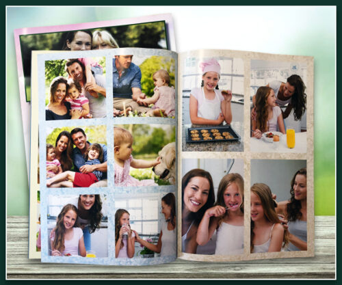 Softcover Photobook - A4 Portrait 297mm x 210mm