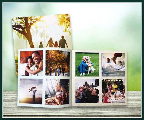 "Square Softcover Photobook - Small - 8"" x 8"""