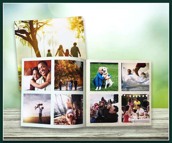 """Square Softcover Photobook - Small - 8"""" x 8"""""""